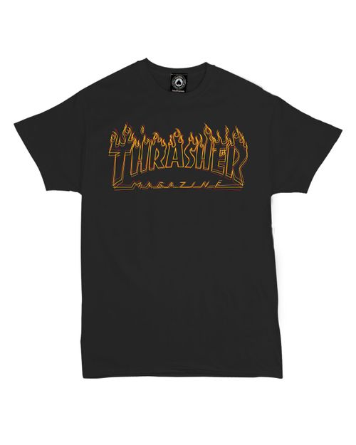 THRASHER T-SHIRT MEN RITCHER FLAME