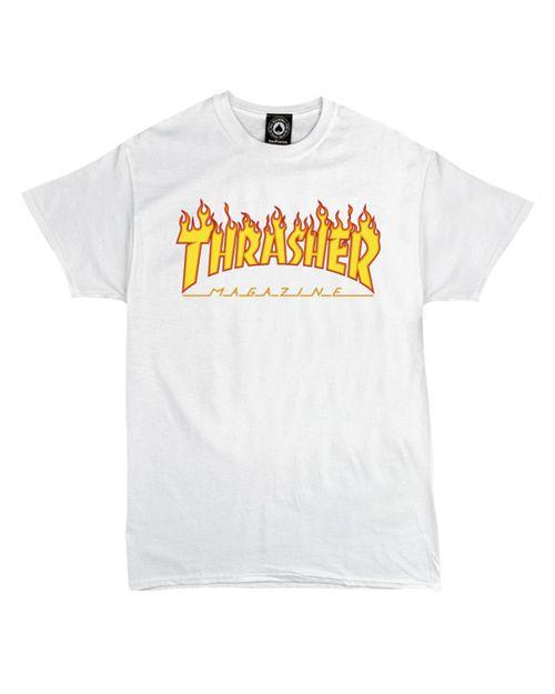 THRASHER T-SHIRT WOMEN FLAME