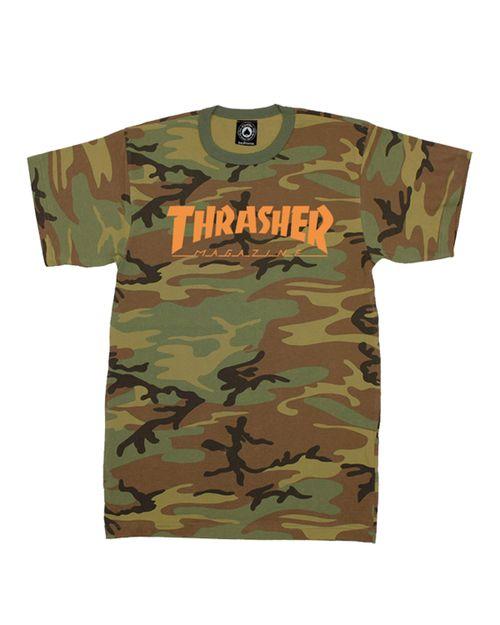 THRASHER T-SHIRT MEN SKATEMAG