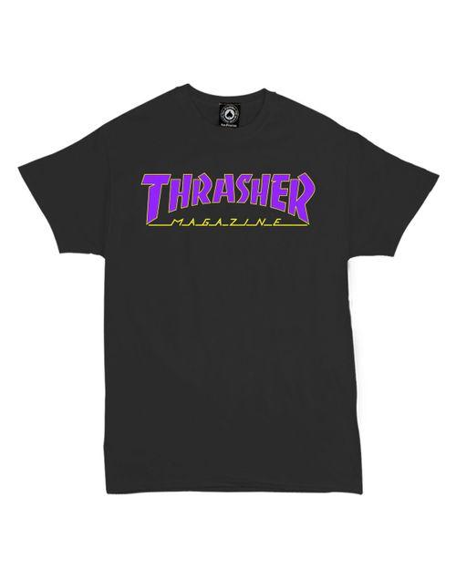 THRASHER T-SHIRT MEN OUTLINE