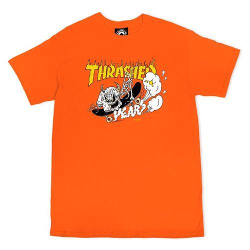 THRASHER T-SHIRT MEN NECKFACE